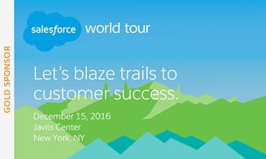 Spanning Backup for Salesforce World Tour Gold Sponsor